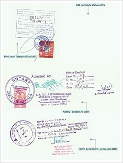 Notary Public Sample