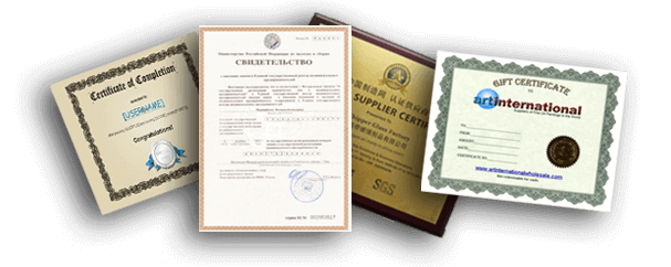 Documents attestation